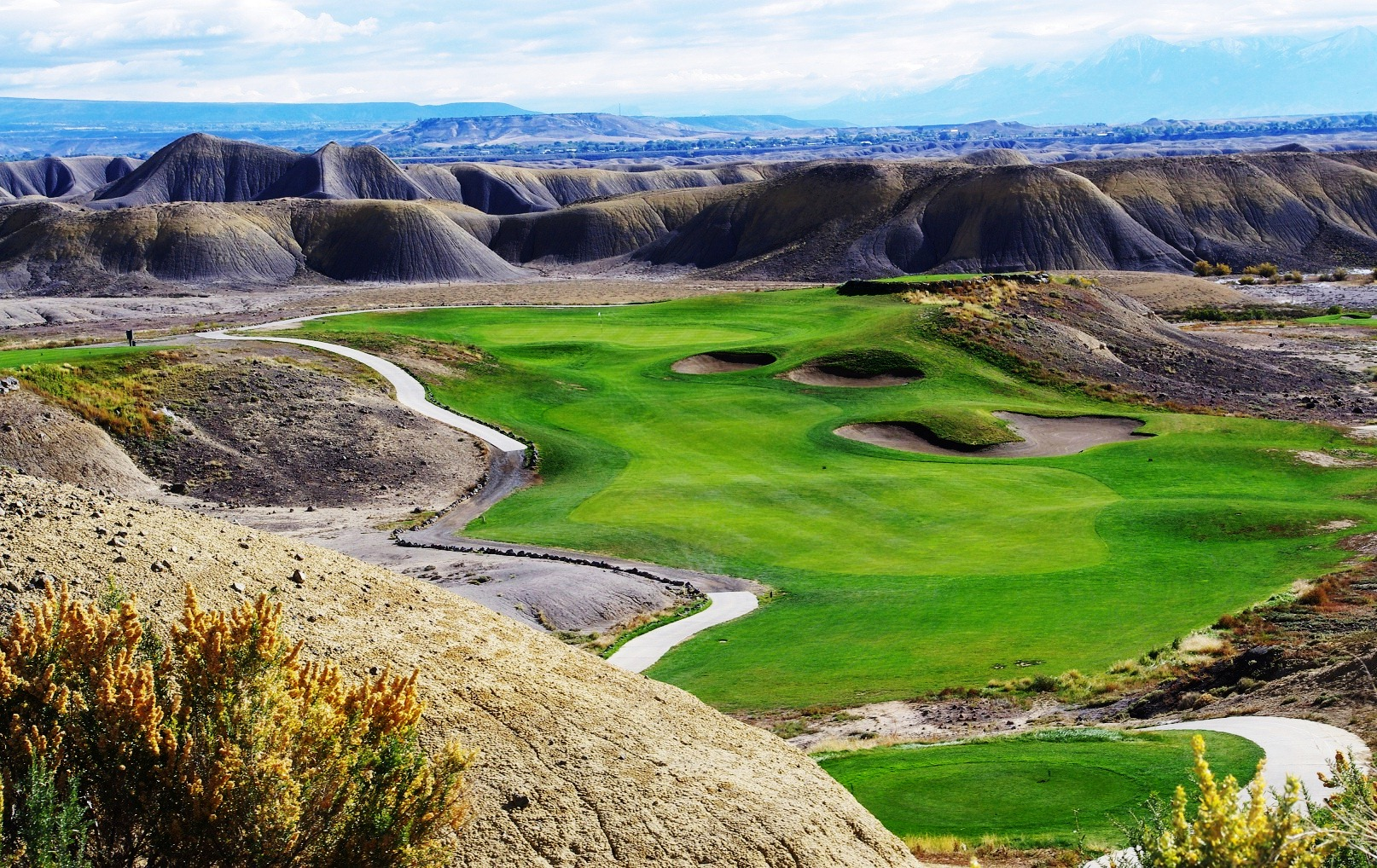 Devil's Thumb Golf Course in Delta County ranks highly
